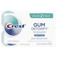 Crest Gum Detoxify Deep Clean Toothpaste, 4.1 oz (Pack of 2)