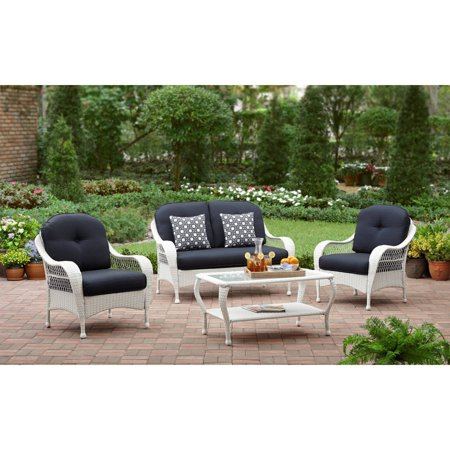 Better Homes & Gardens Azalea Ridge Outdoor Patio Conversation Set ()