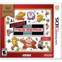 Ultimate NES Remix (Nintendo Selects), Nintendo, Nintendo 3DS, 045496744960