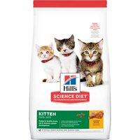 Hill's Science Diet (Spend $20, Get $5) Kitten Chicken Dry Cat Food, 15.5 lb bag (See description for rebate details)