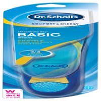 Dr. Scholl's Comfort & Energy Massaging Gel Basic Insoles for Women