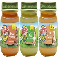 Earth's Best Organic Stage 1 Baby Food, My First Veggies Variety Pack, 2.5 Ounce Jar (12 Count)