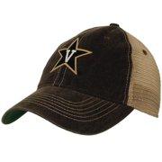 a1c87f5d7471ac Vanderbilt Commodores Black Mesh Back Trucker Cap - Star Logo