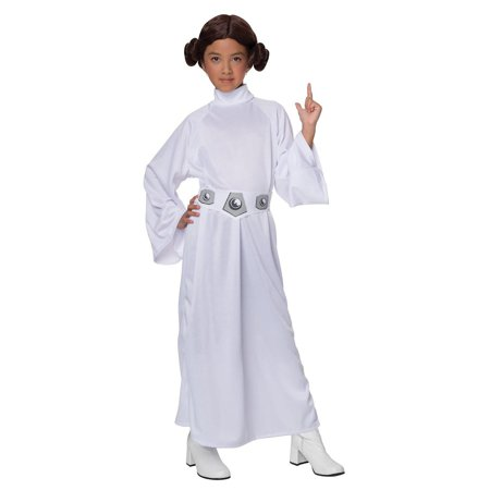 Star Wars Princess Leia Child Costume - Small - Star Wars Cheap Costumes