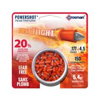 Crosman Powershot 177 Caliber Fast Flight Penetrator Pellets 150 ct LF1754