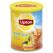 (2 Pack) Lipton Iced Tea Mix Lemon 10 qt