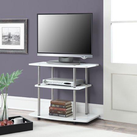 Convenience Concepts Designs2go No Tools 3 Tier Tv Stand Multiple