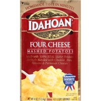 Idahoan Four Cheese Mashed Potatoes, 4 oz