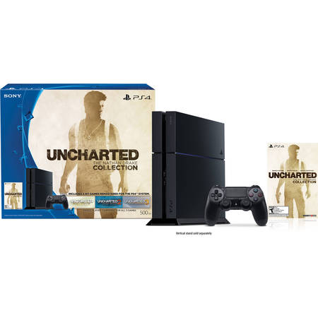 PlayStation 4 UNCHARTED: The Nathan Drake Collection (Game Token) Console Bundle (PS4)
