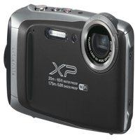 Fujifilm FinePix XP135 Rugged Waterproof Digital Action Camera / Camcorder - Black (Only at Walmart)