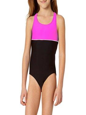 Op Little Girls Swimwear Walmartcom
