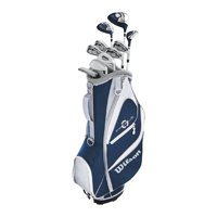 Wilson Profile XD Women's Right Handed Complete Petite Golf Club Set w/ Cart Bag