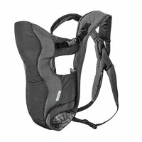 Evenflo Breathable Carrier, Gray Chevron