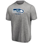 Men s Majestic Heathered Gray Seattle Seahawks Proven Winner Synthetic TX3  Cool Fabric T-Shirt b535204bc