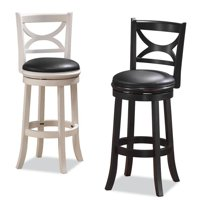 "Florence Swivel Counter Stool 24"", Multiple Colors"