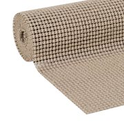 Duck Select Grip 12 In. x 10 Ft. shelf Liner, Brownstone