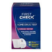 First Check Home Drug Test, 4 drugs tested, 1.0 ct
