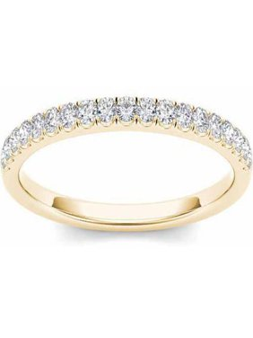 Imperial 1/4 Carat T.W. Diamond 14kt Yellow Gold Wedding Band