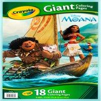 Crayola Giant Coloring Pages Featuring Disney'S Moana