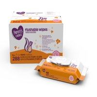 Parent's Choice Flushable Wipes, 6 packs of 48 (288 ct)