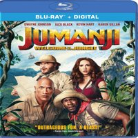 Jumanji: Welcome to the Jungle (Blu-ray + Digital)