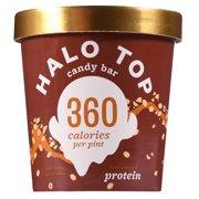 Halo Top, Candy Bar Ice Cream, 1 Pint