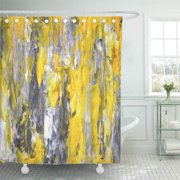 Magnificent Yellow Grey Bathroom Decor Home Remodeling Inspirations Propsscottssportslandcom