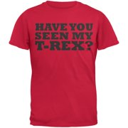 Jurassic - Have You Seen My T-Rex Red Youth Flip-up T-Shirt