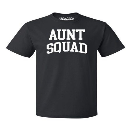 Aunt Squad Birthday Pregnancy Mother's Day Gift Men's T-shirt, S, Black (Squad Shirts)