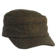 c87c1bbd11f2ea POP Fashionwear Women's Military Cadet Style Hat Brown