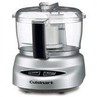 Cuisinart Mini-Prep Plus 3-Cup Food Chopper, Silver