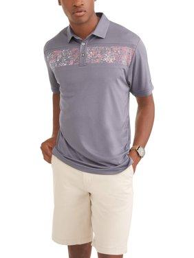 Men's Performance Short Sleeve Premium Lightweight Polo Shirt, Up To Size 5XL