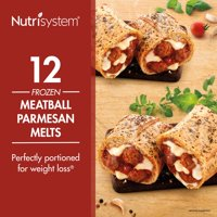 Nutrisystem Frozen Meatball Parmesan Lunch Melt, 4.0 oz, 12 Ct
