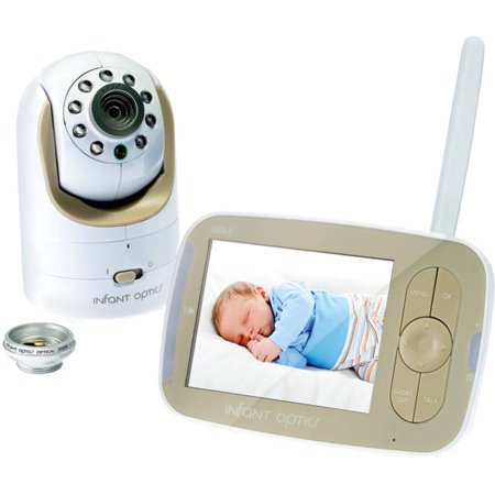 Infant Optics DXR-8, Video Baby Monitor, Interchangeable Optical