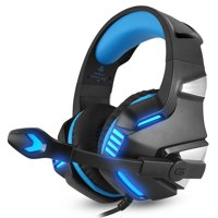 Gaming Headset - Headset Gaming Headphone for PS4, Xbox One (Adapter Need), Nintendo Switch (Audio) PC Gaming Headset, iphone X 8 7, Samsung LG