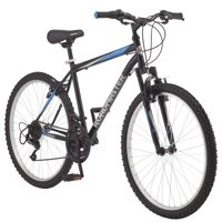 "Roadmaster Granite Peak 26"" Men's Mountain Bike, Black/Blue"