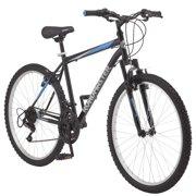 "Roadmaster Granite Peak Men's Mountain Bike, 26"" wheels, Black"