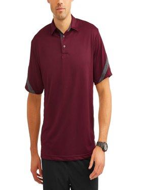 410b21f512 Product Image Men s Performance Short Sleeve Color Block Polo Shirt
