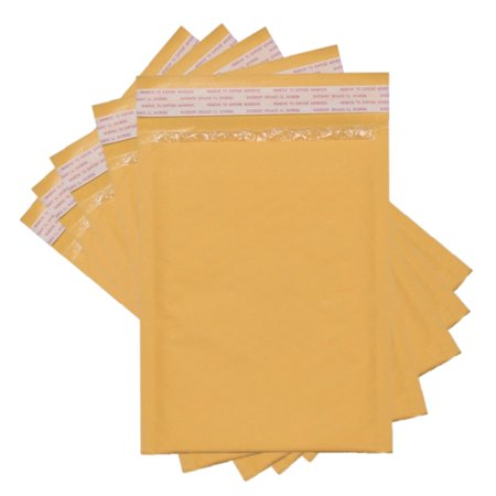 - Sales4Less #000 Kraft Bubble Mailers 4X8 Inches Shipping Padded Envelopes Self Seal Waterproof Cushioned Mailer 100 Pack