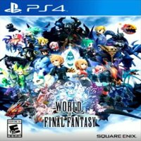 World of Final Fantasy, Square Enix, PlayStation 4, 662248918747