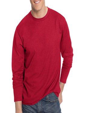Hanes Men's Nano-T Tagless Ultra-Light Long Sleeve Tshirt