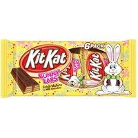 Kit Kat, Easter Milk Chocolate Bunny Ears, 6 Count, 9.3 Oz