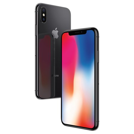 Simple Mobile Apple iPhone X with 64GB Prepaid Smartphone,