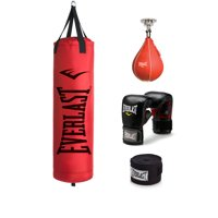 70 lb Poly Canvas Red Heavy Bag Kit