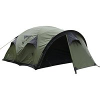 Snugpak Cave Waterproof 4 Person 4 Season Camping Backpacking Family Tent, Olive