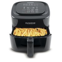 NuWave 37001 6-Qt. Digital Air Fryer, Black