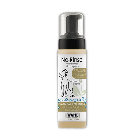- Wahl Waterless No Rinse coconut lime verbena shampoo, 7.1-oz bottle 820015