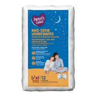 Parent's Choice Bed-Time Training Underpants Pull Ups, L/XL 60-125 lbs, 12 count