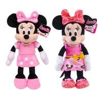 Minnie Mouse Bean Plush- 2 Pack Bundle