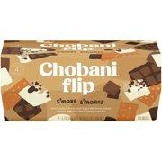 Chobani Flip, S'more S'mores Low Fat Sweet Vanilla Greek Yogurt 5.3 Oz. Cups, 4 Cups